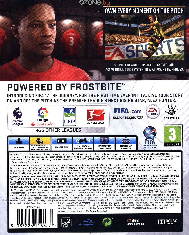 FIFA 17 (PS4) - 2