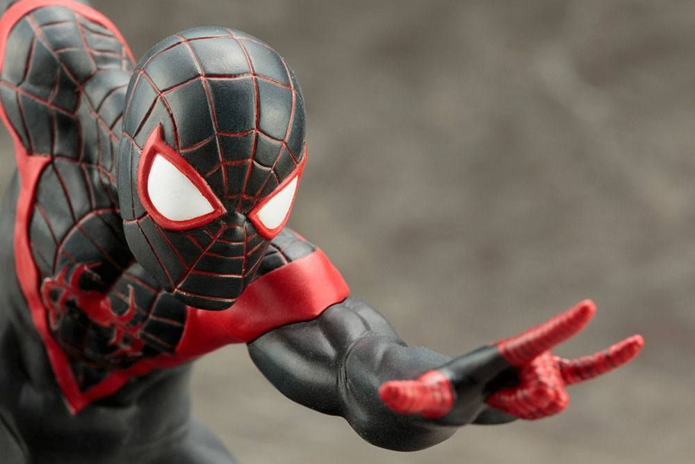 Фигура Marvel Now! - Spider-Man (Miles Morales), 11 cm - 3