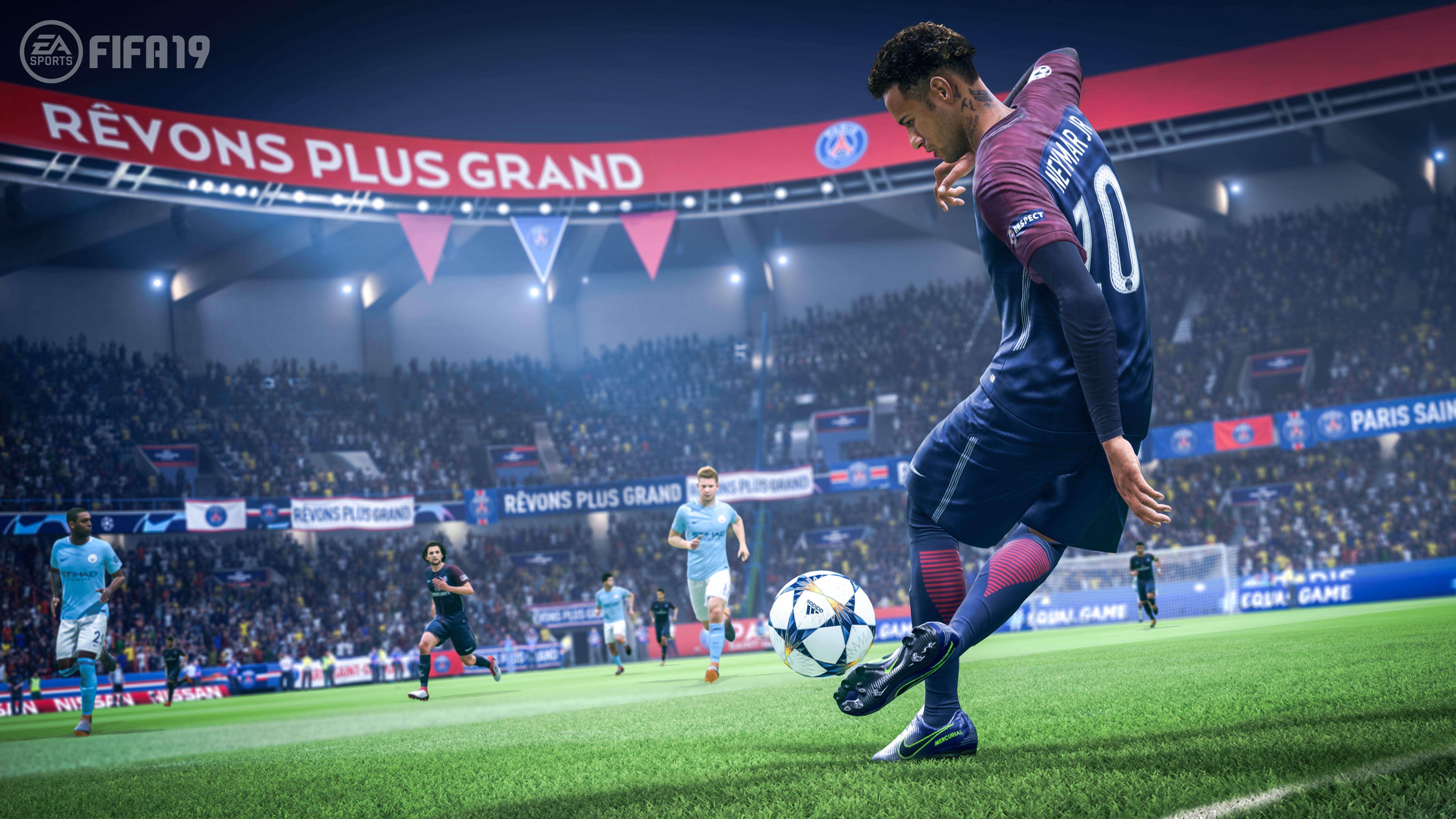FIFA 19 Champions Edition (PS4) + подарък албум Panini 365 - 2019 - 5