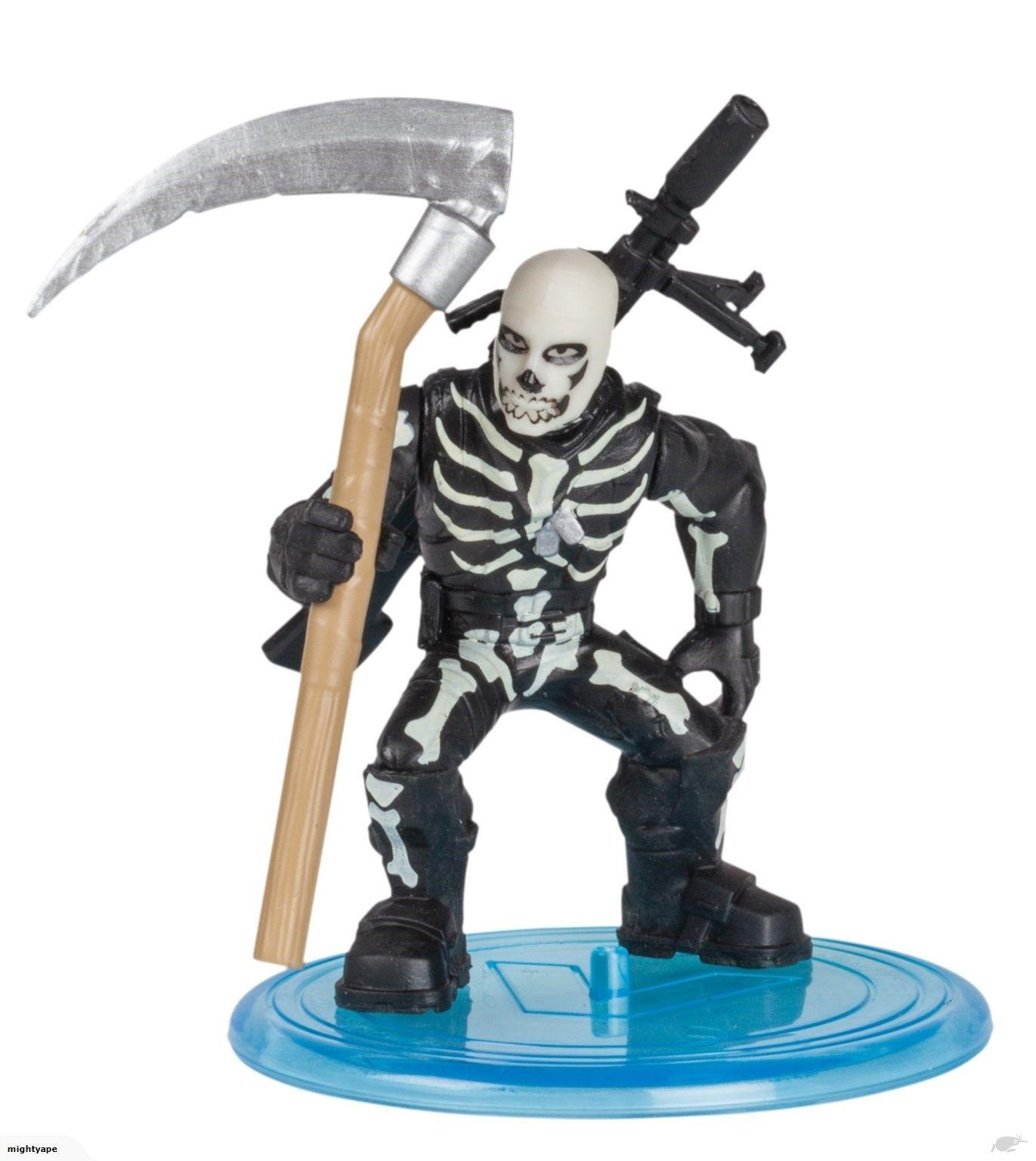 Фигурка Moose Fortnite Battle Royale - Skull Trooper, с 2 оръжия - 2