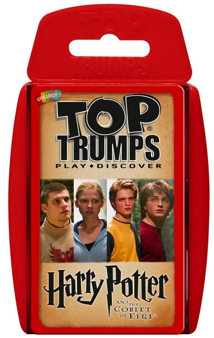 Игра с карти Top Trumps - Harry Potter and the Goblet of Fire  - 1