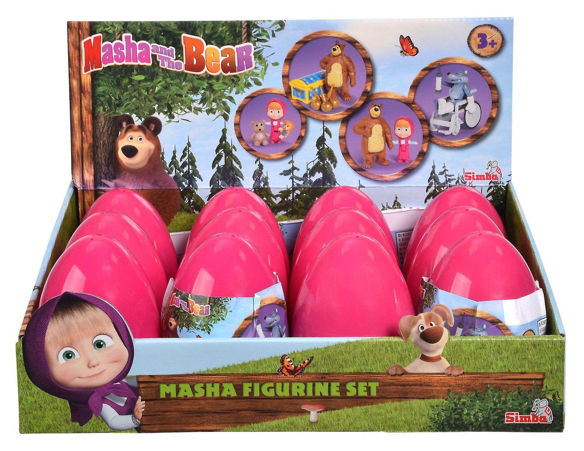 Фигура Simba Toys Маша и Мечока - Маша, 10 cm - 2