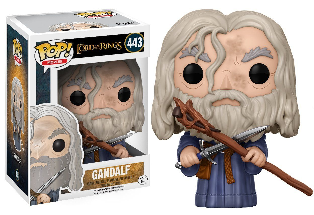 Фигура Funko Pop! Movies: The Lord of the Rings - Gandalf, #443 - 2