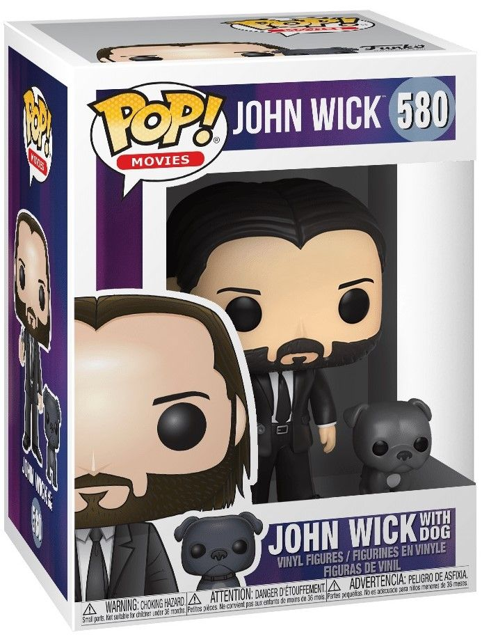 Фигура Funko Pop! Movies: John Wick - John Wick with Dog, #580 - 2