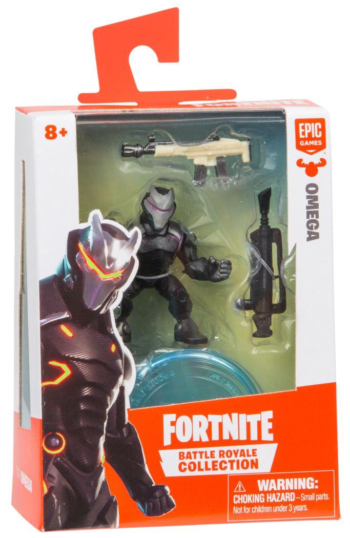 Фигурка Moose Fortnite Battle Royale - Omega, с 2 оръжия - 1