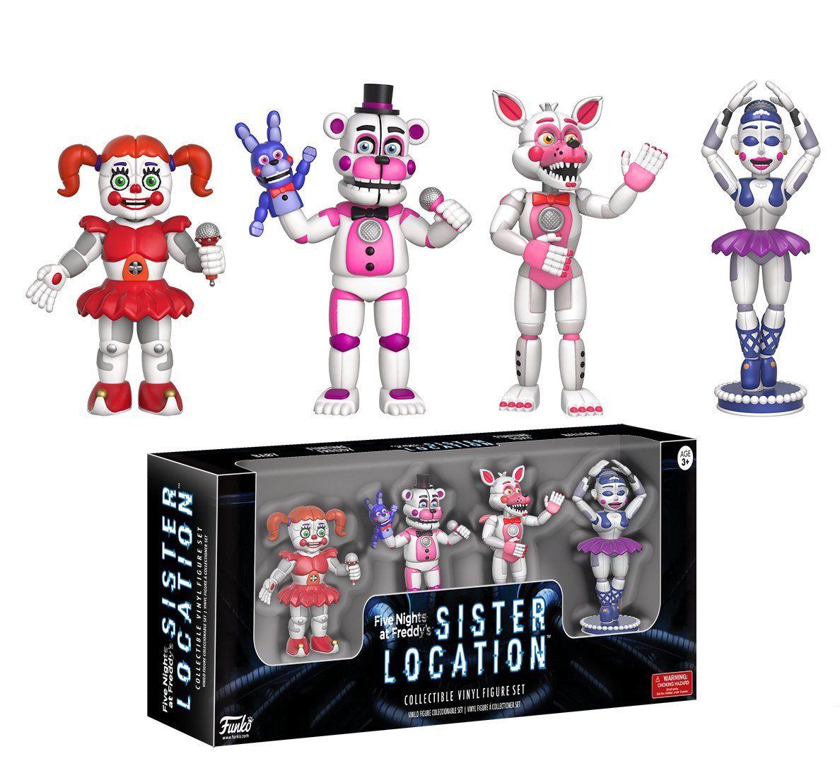 Фигури Funko Five Nights at Freddy's - Sister Location Set (5cm) - 2