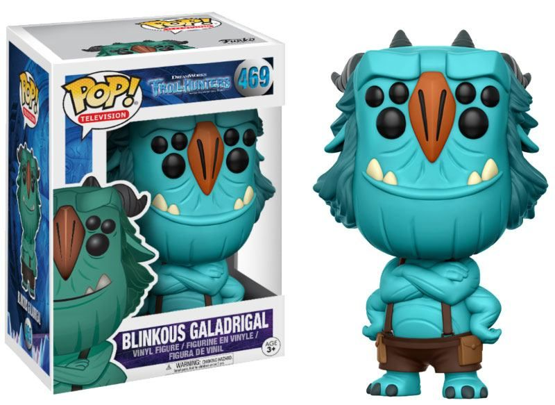Фигура Funko Pop! Television: Trollhunters - Blinkous Galadrigal, #469 - 2