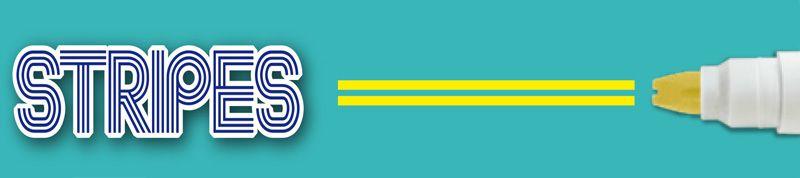 Комплект флумастери Apli - Двойна линия, 8 цвята - 2