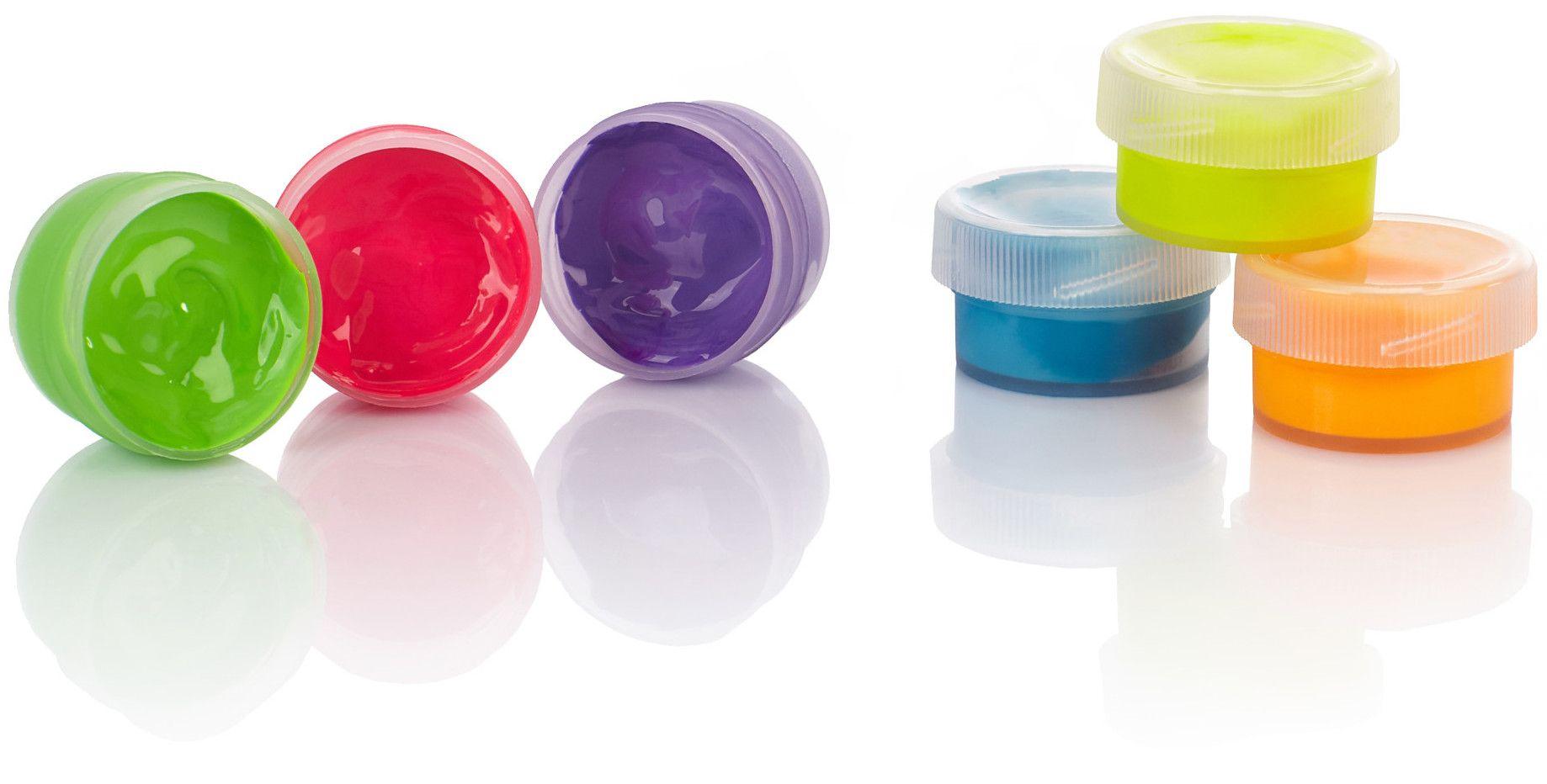 Флуоресцентни бои Astra - 6 цвята, 10 ml - 3