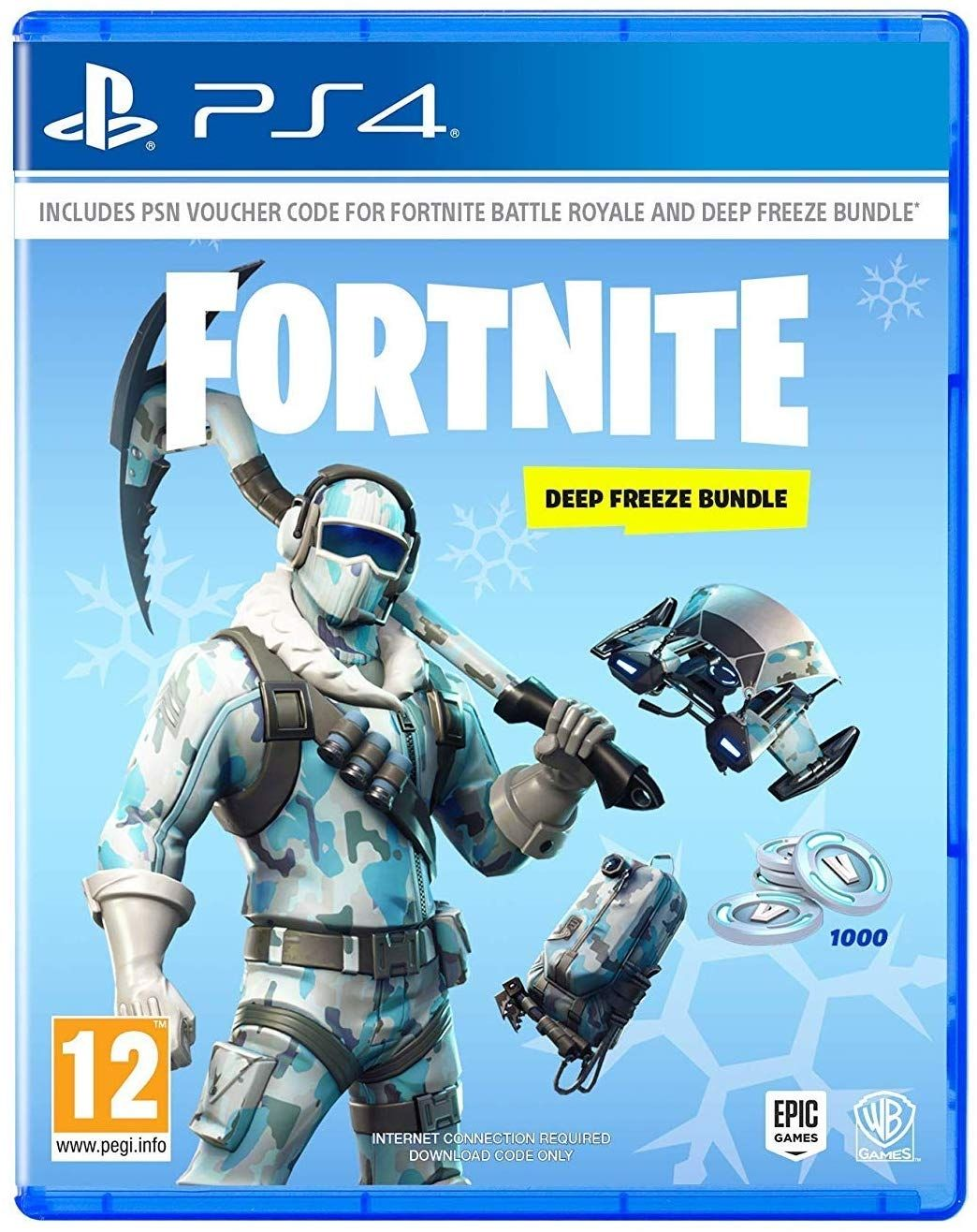 Fortnite - Deep Freeze Bundle (PS4) - 1