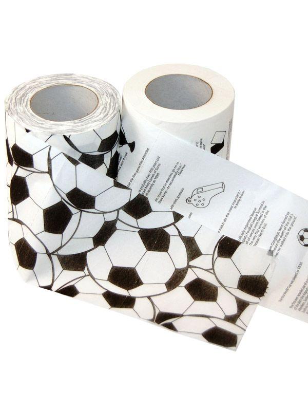 Футболна тоалетна хартия - 1
