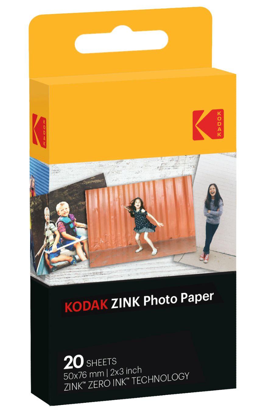 """Фотохартия Kodak - Zink 2x3"""", 20 pack - 1"""