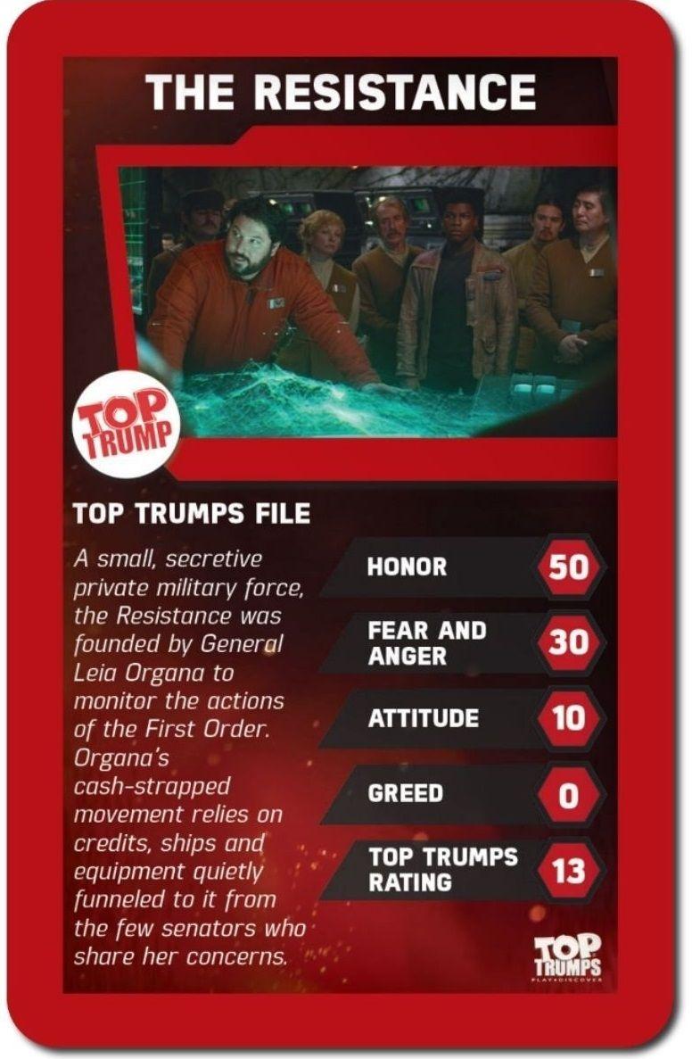 Игра с карти Top Trumps - Star Wars The Force Awakens - 2