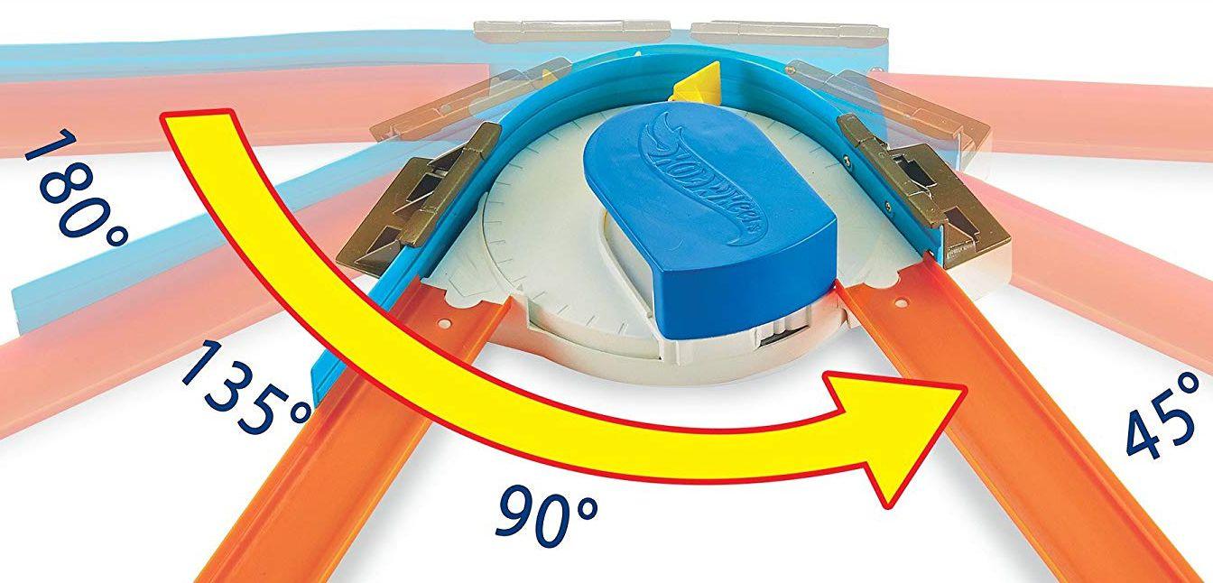 Игрален комплект Mattel Hot Wheels - Писта с 360° завой - 5
