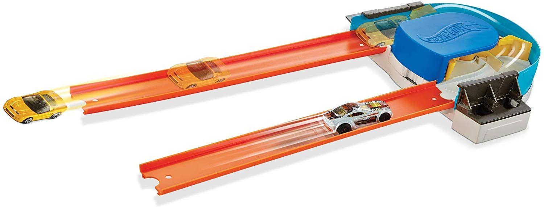 Игрален комплект Mattel Hot Wheels - Писта с 360° завой - 1