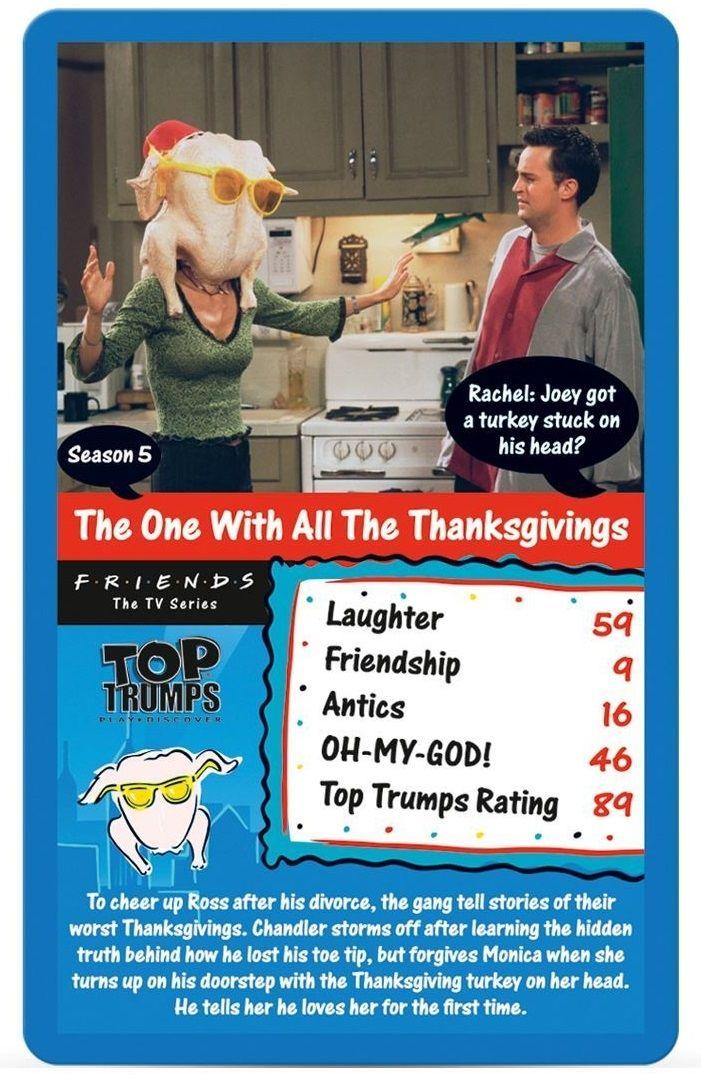 Игра с карти Top Trumps - Friends - 4