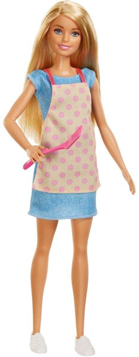 Игрален комплект Mattel Barbie - Кухнята на Барби, със звук и светлини - 2