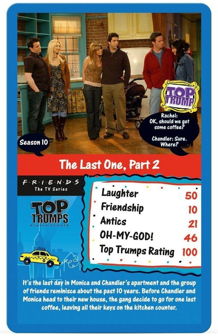 Игра с карти Top Trumps - Friends - 2