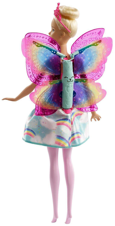 Кукла Mattel Barbie Dreamtopia - Фея, с летящи криле - 5