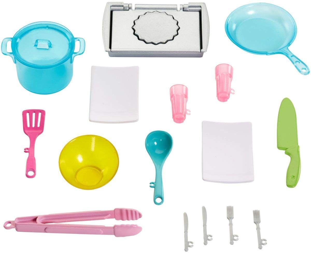 Игрален комплект Mattel Barbie - Кухнята на Барби, със звук и светлини - 3