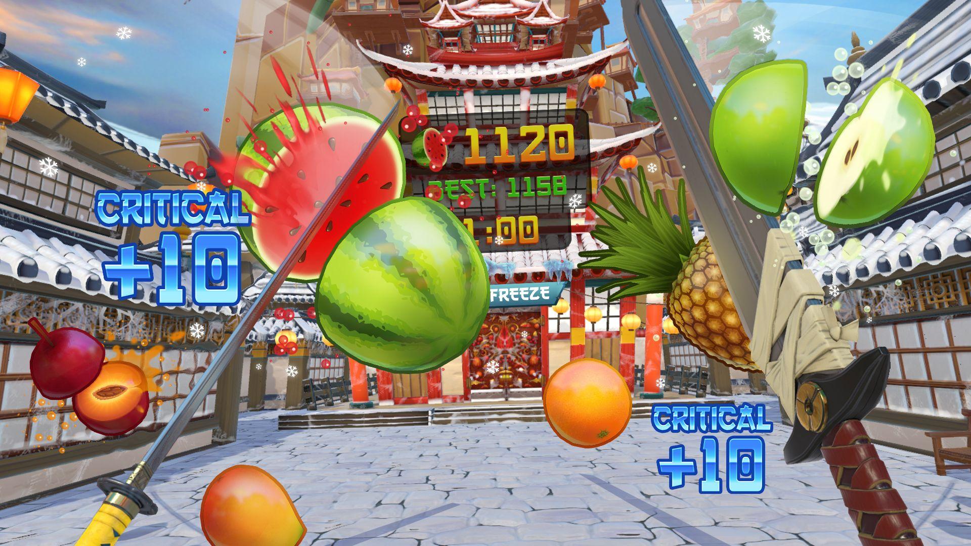 Fruit Ninja VR (PS4 VR) - 3
