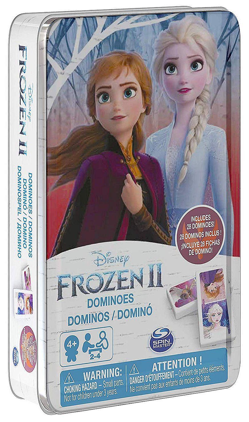 Домино Spin Master Cardinal - Frozen 2, в метална кутия - 1