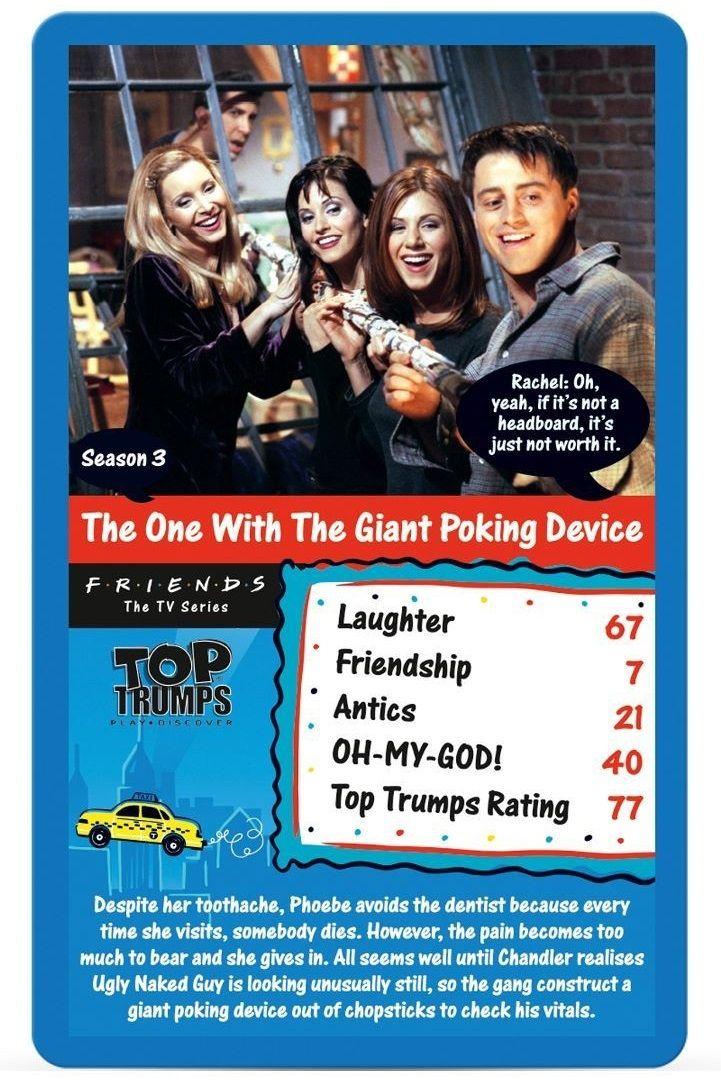 Игра с карти Top Trumps - Friends - 3