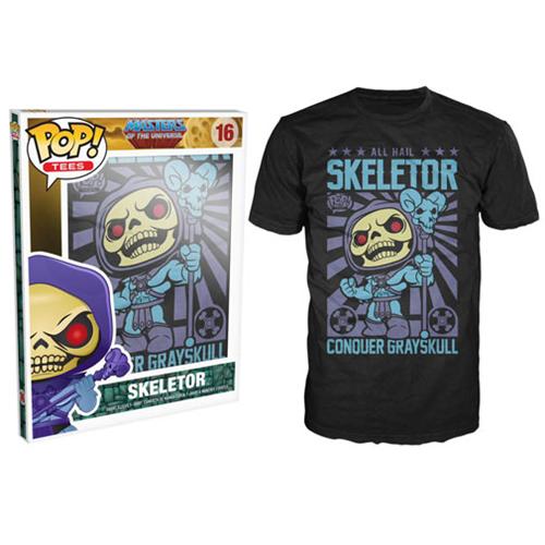Тениска Funko Pop! All Hail Skeletor, черна - 2
