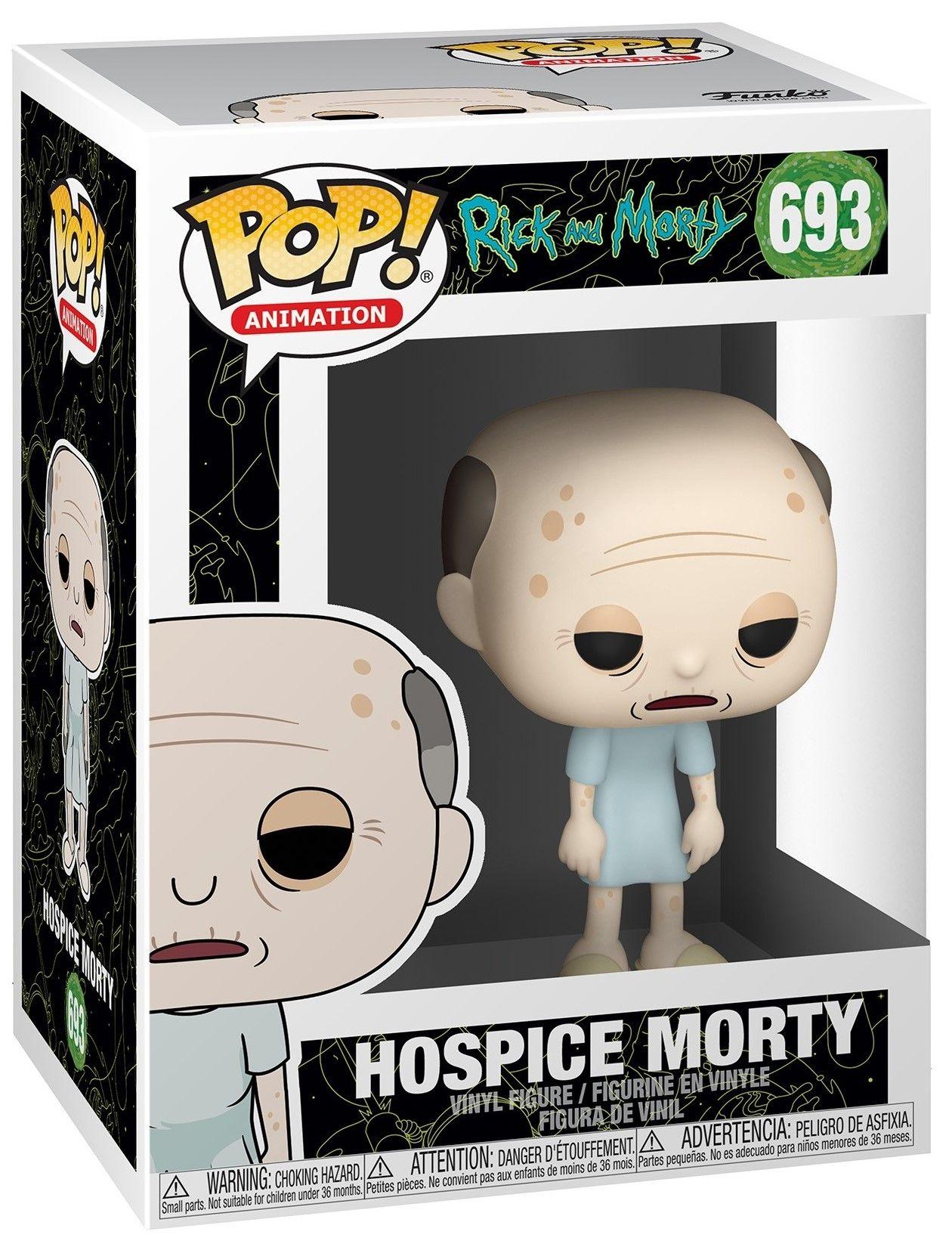 Фигура Funko Pop! Animation: Rick & Morty - Hospice Morty, #693 - 2