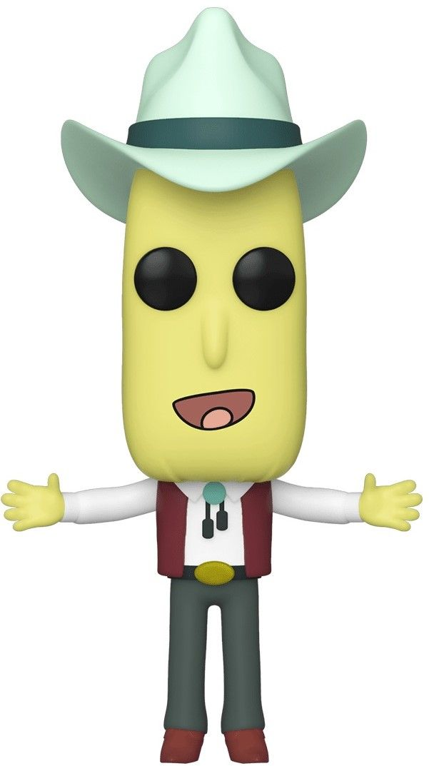 Фигура Funko Pop! Animation: Rick & Morty - Mr. Poopy Butthole Auctioneer, #691 - 1