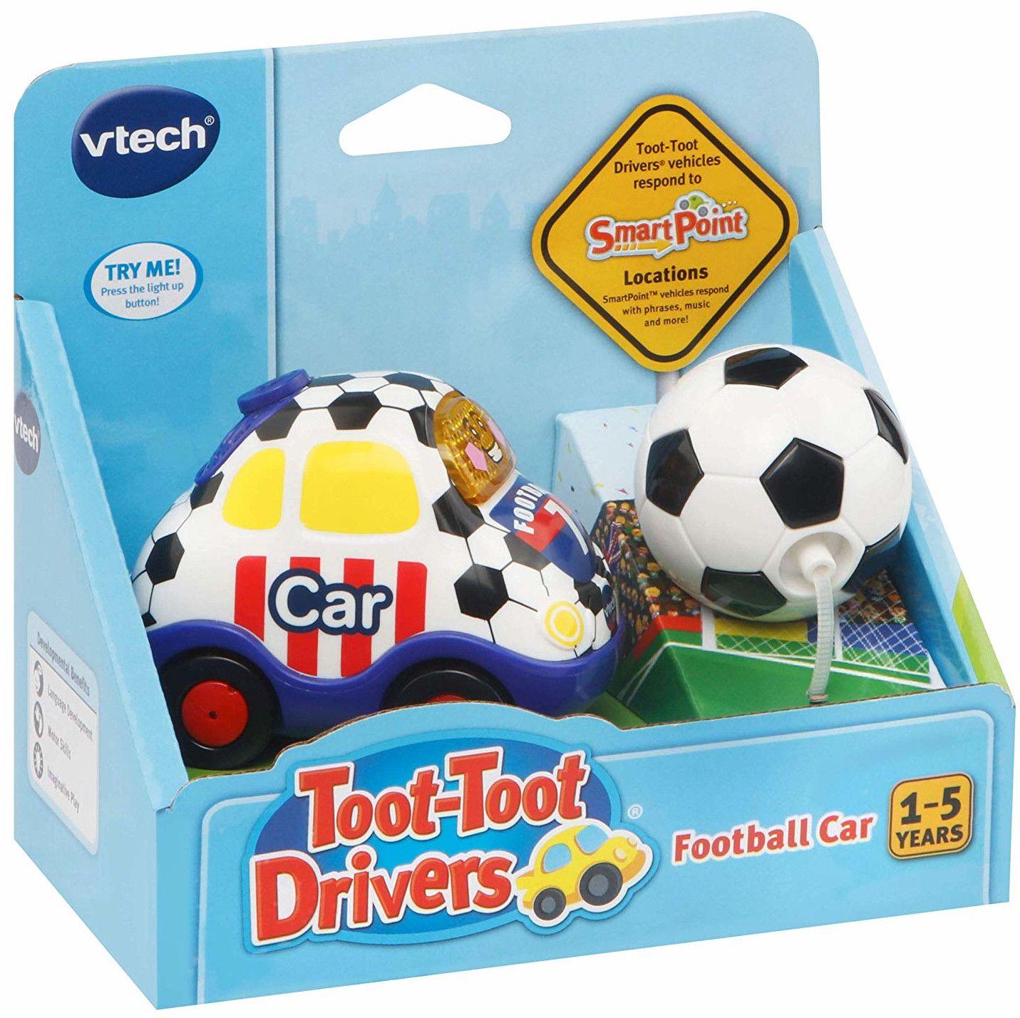 Детска играчка Vtech - Футболна кола, със светлина и звук - 2