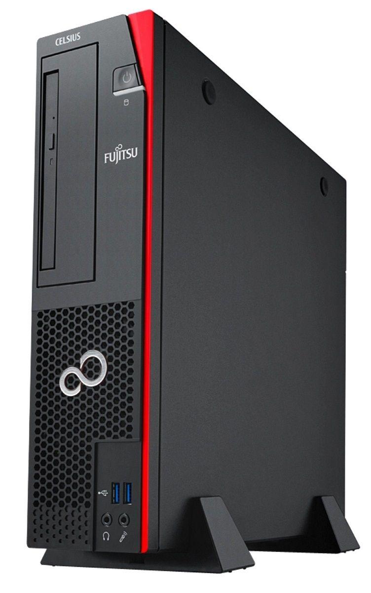 Настолен компютър Fujitsu Celsius - J580, черен - 2