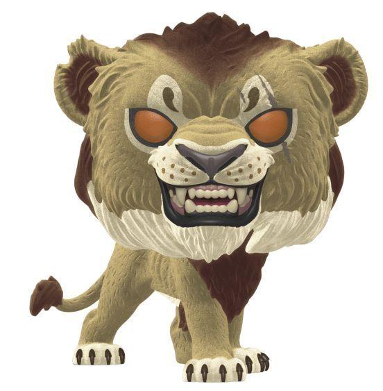 Фигура Funko Pop! Disney: The Lion King - Scar (Flocked), #548 - 1
