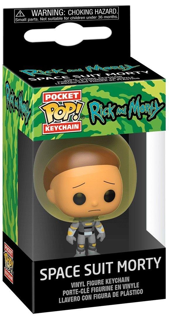 Ключодържател Funko Pocket Pop! Rick & Morty - Space Suit Morty - 2