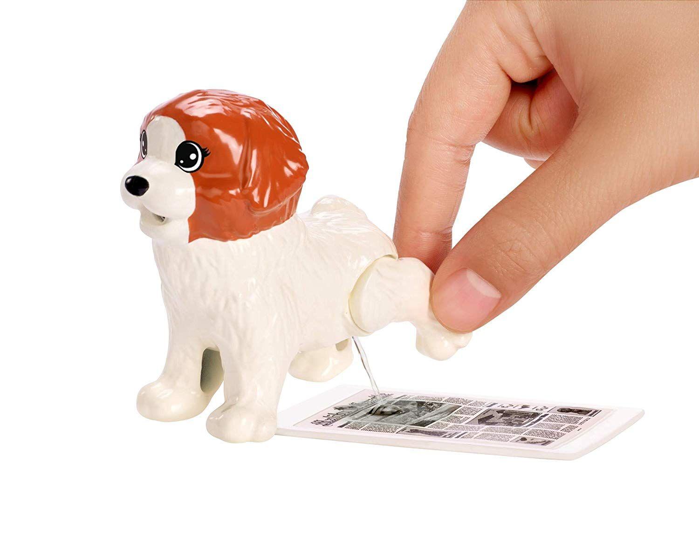 Игрален комплект Mattel Barbie - Барби с 4 кученца - 4