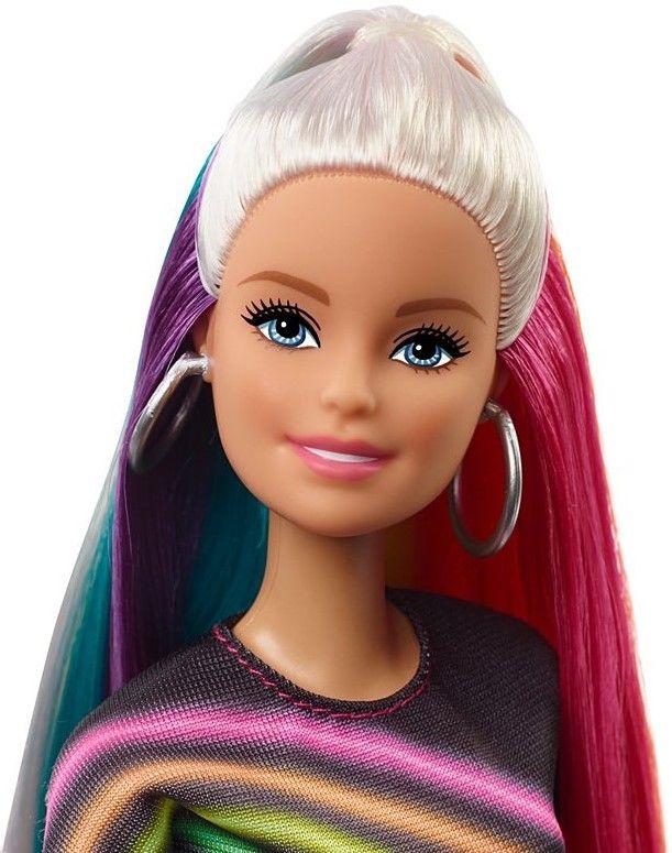 Игрален комплект Mattel Barbie - Прическа Дъга - 8