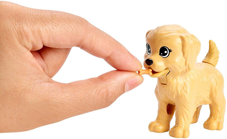 Игрален комплект Mattel Barbie - Барби с 4 кученца - 5