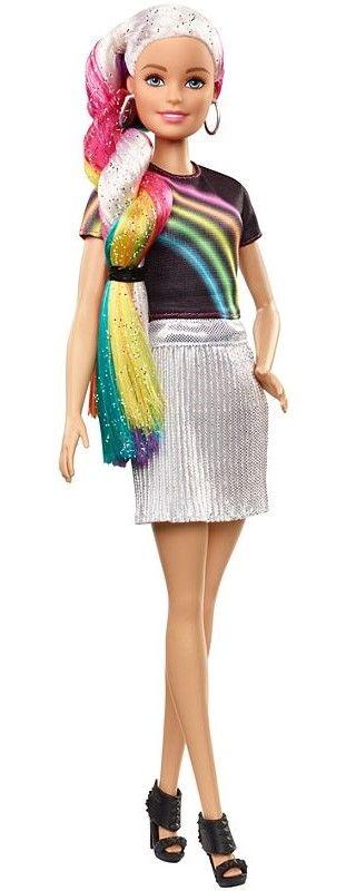 Игрален комплект Mattel Barbie - Прическа Дъга - 6