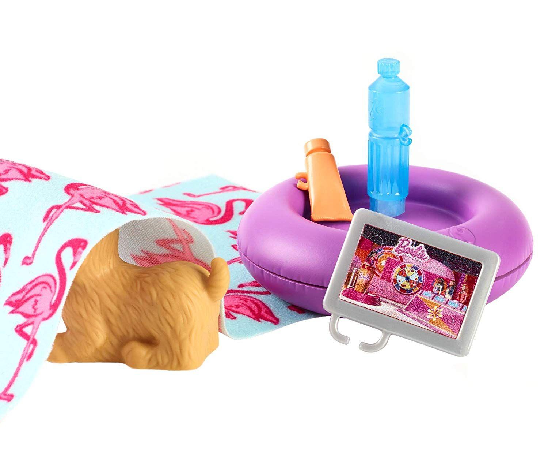 Игрален комплект Mattel Barbie - Басейн - 5