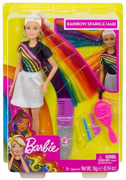 Игрален комплект Mattel Barbie - Прическа Дъга - 1