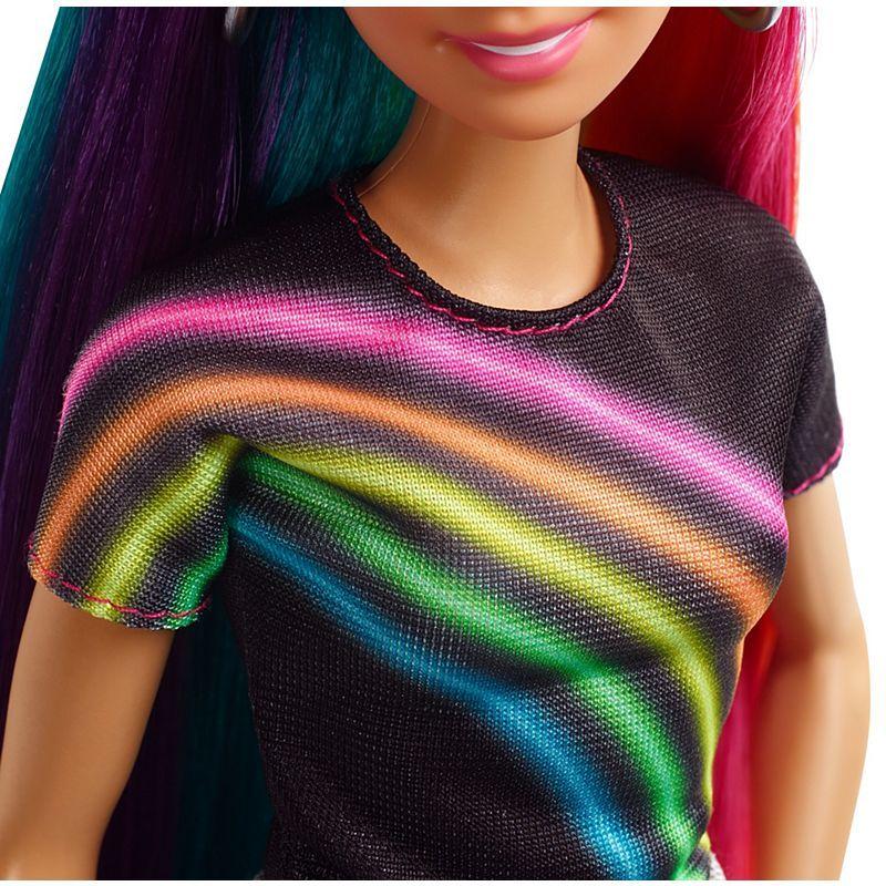 Игрален комплект Mattel Barbie - Прическа Дъга - 9