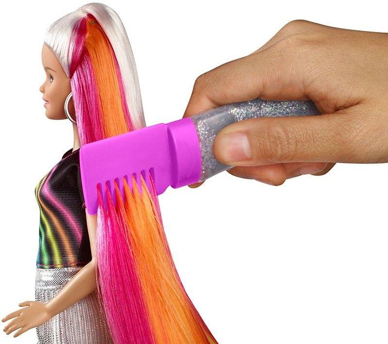 Игрален комплект Mattel Barbie - Прическа Дъга - 13