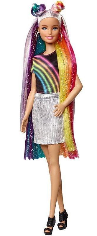Игрален комплект Mattel Barbie - Прическа Дъга - 3