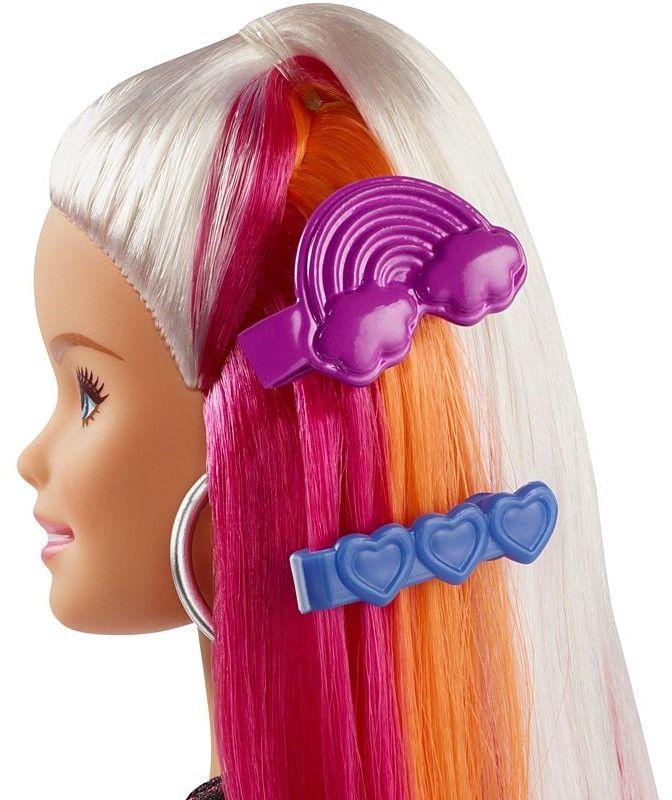 Игрален комплект Mattel Barbie - Прическа Дъга - 12