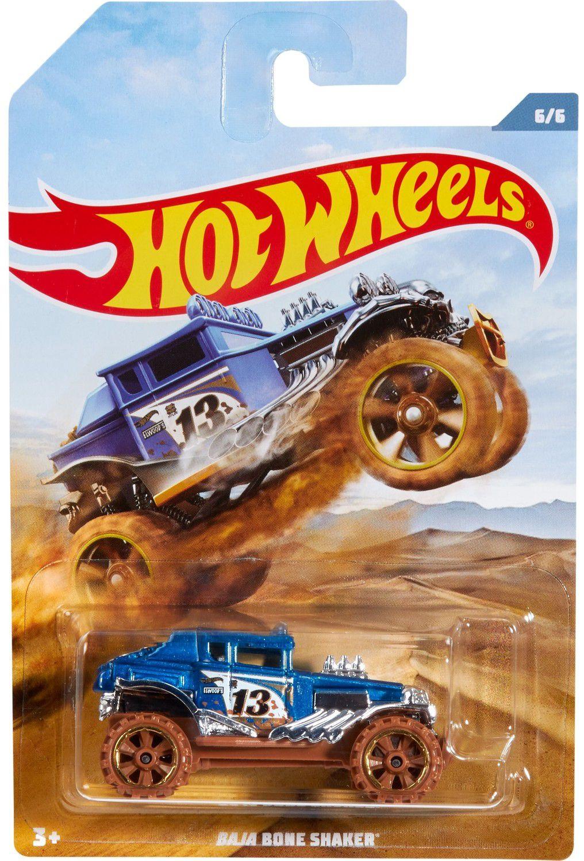 Количка Mattel Hot Wheels - Baja Bone Shaker - 1