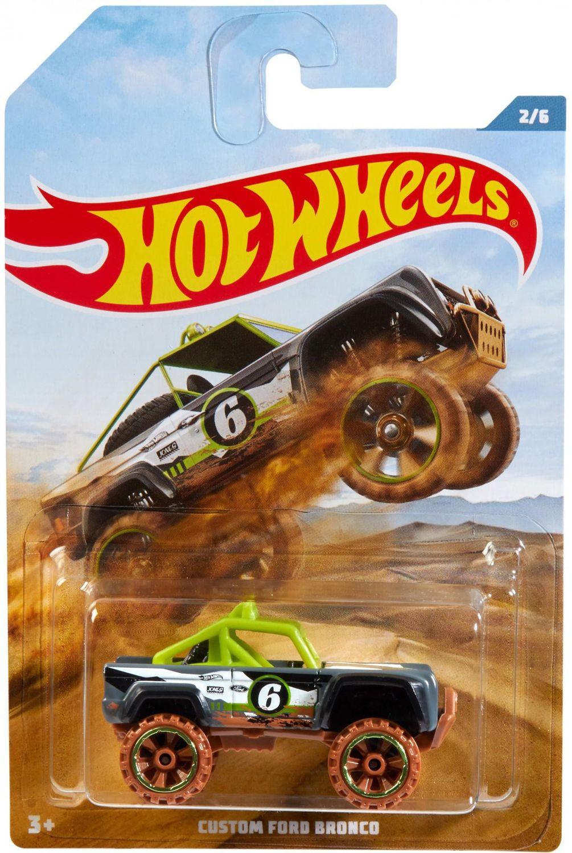 Количка Mattel Hot Wheels - Custom Ford Bronco - 1