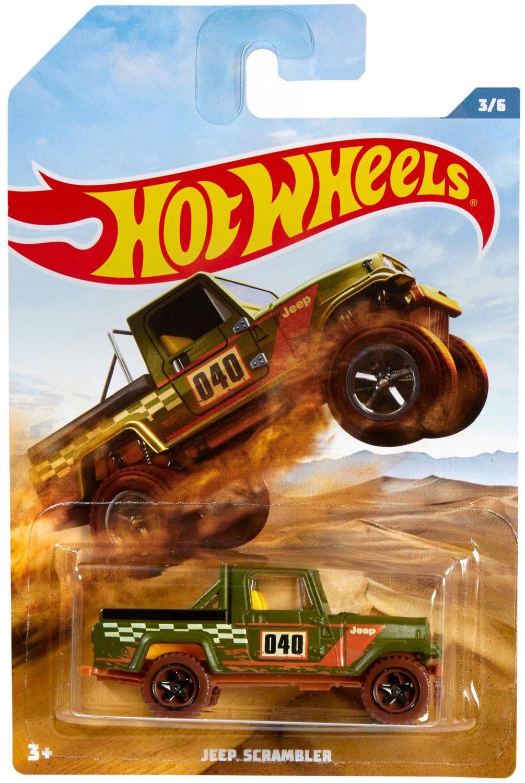 Количка Mattel Hot Wheels - Jeep Scrambler - 1