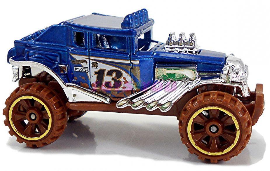 Количка Mattel Hot Wheels - Baja Bone Shaker - 2