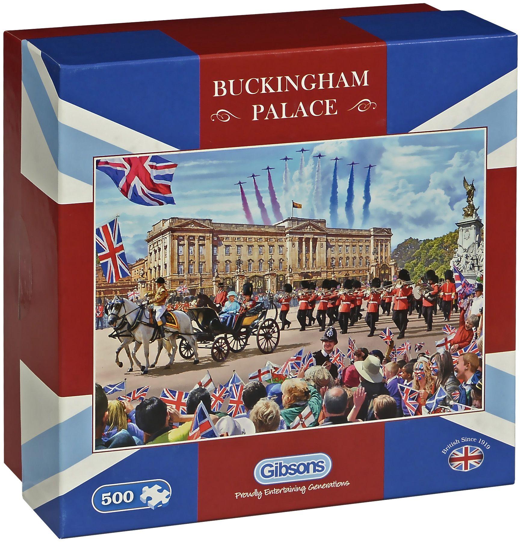 Пъзел Gibsons от 500 части - Бъкингамският дворец, Стив Крисп - 1