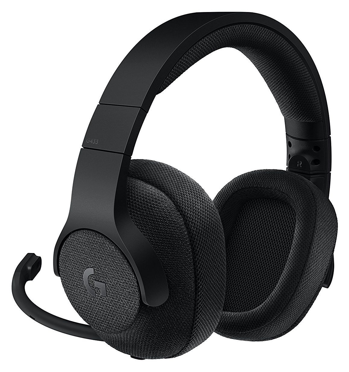 Logitech G433 Gaming Headset black (разопакован) - 1